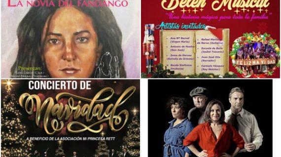Flamenco, sones navideños y teatro completan la variada programación cultural de esta semana en Huelva