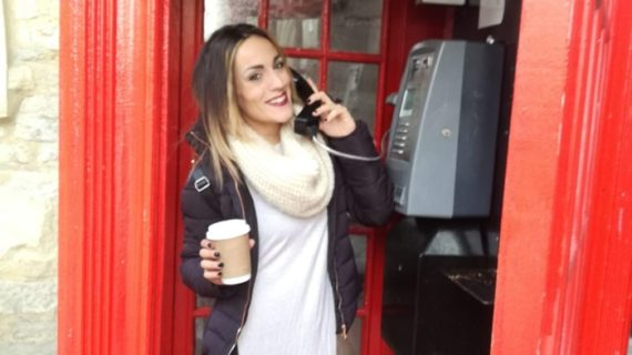 La onubense Sandra Rodríguez González vive en Oxford para ganar experiencia laboral
