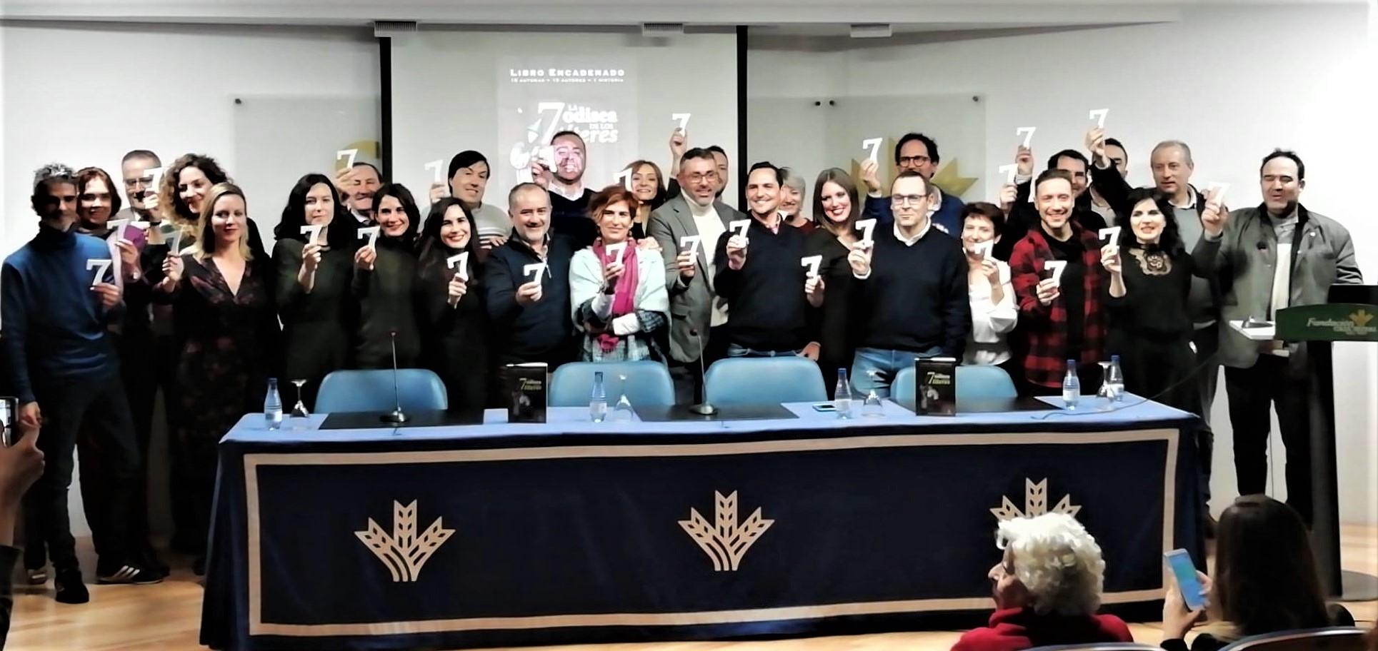 '7: la odisea de los títeres', el libro encadenado de Pábilo Editorial, se presenta en la Fundación Caja Rural del Sur