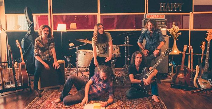 La banda onubense Rusty River presenta su segundo disco 'Holy Basil Blues'