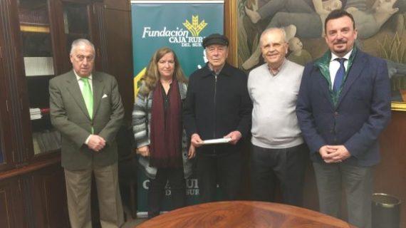 El Taller de Arteterapia y la Fundación Caja Rural del Sur entregan lo recaudado en las exposiciones a entidades solidarias