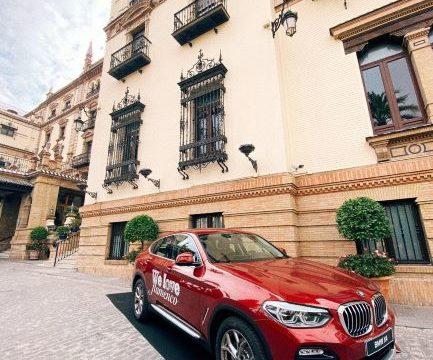 Autogotran sortea un fin de semana especial en la Sierra onubense conduciendo un BMWX4