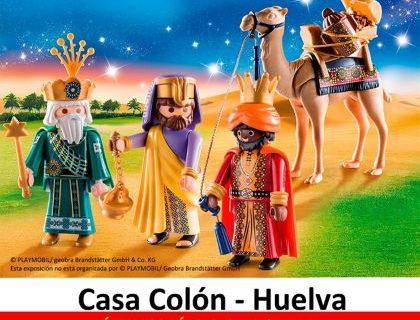 El Belén de Playmobil, hasta este sábado en la Casa Colón de Huelva