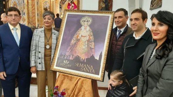 La Semana Santa moguereña ya tiene cartel anunciador, obra de Joaquín Gómez