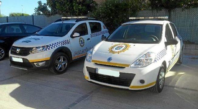 La Policía Local de Aljaraque recupera varios objetos que habían sido sustraídos