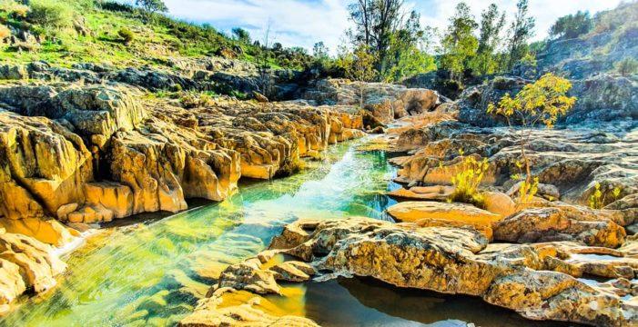 Alosno vuelve a unir deporte y naturaleza para disfrutar y cuidar de en un paraíso terrenal