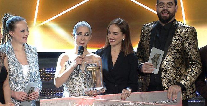 La almonteña Diana Larios, con la canción 'Zero Gravity', ganadora de 'Tierra de Talentos'