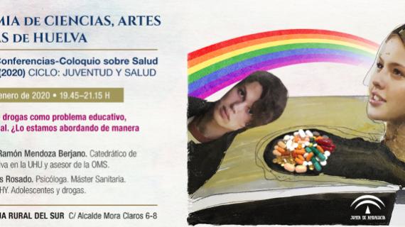 La Academia de Ciencias, Artes y Letras de Huelva pone el foco en la juventud en su V Ciclo de Conferencias 'Salud y Sociedad'