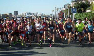 Alrededor de 800 atletas tomaron participaron en el evento atlético en Ayamonte.