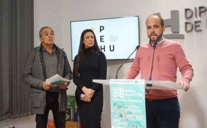 Un momento de la presentación en la Diputación Provincial de la 35 Media Maratón 'Ciudad de Ayamonte'.