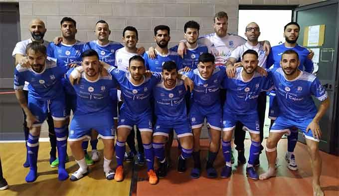 El CD Sordos Huelva, subcampeón de Europa en Italia.