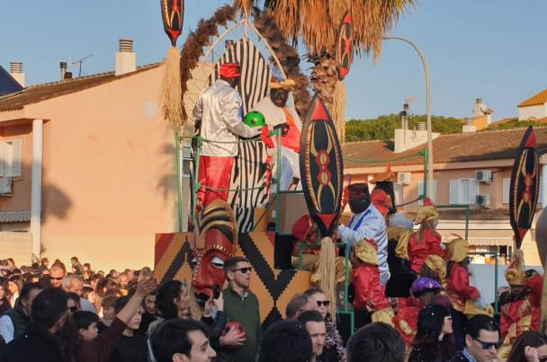 Aljaraque, Bellavista y Corrales, en la ruta de los Reyes Magos