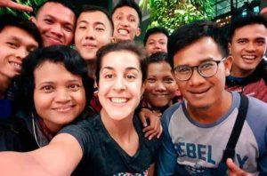 Carolina Marín siempre es bienvenida en Indonesia, como lo muestra en la imagen colgada en su cuenta de twiter.