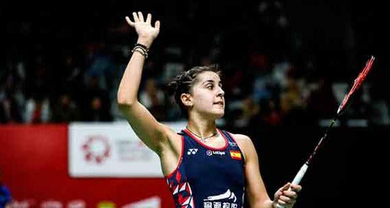 Carolina Marín debutó sin sobresaltos en el Master de Barcelona derrotando a la rusa Perminova