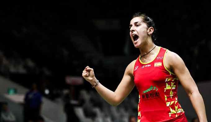 Carolina Marín superó a He Bing Jiao y disputará en Indonesia ante Intanon su primera final del año
