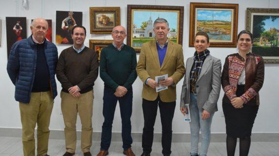 La Oficina de Turismo de Palos de la Frontera acoge la exposición del palermo José Manuel Rojas