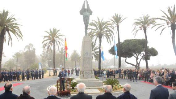 Palos de la Frontera rinde homenaje a los aviadores del Plus Ultra