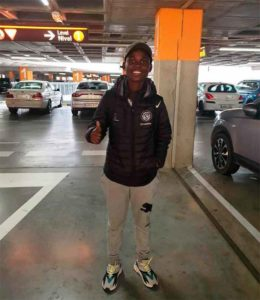 Ernestina Abambila, muy contenta de jugar en el Sporting de Huelva.