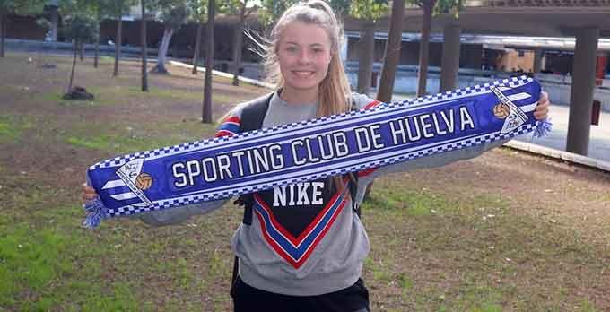 El Sporting de Huelva refuerza su delantera con la norteamericana Danica Lynn Evans