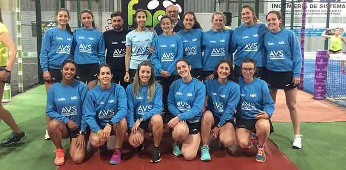 Equipo femenino Absoluto del AVS La Volea que tiene ante sí una exigente temporada.