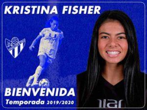 El Sporting de Huelva anuncia el fichaje de la centrocampista norteamericana, Kristina Fischer.