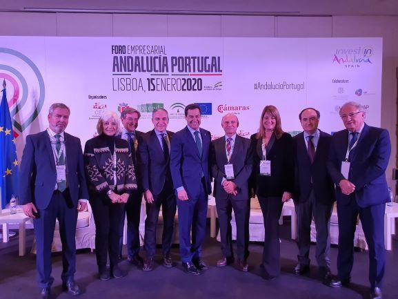 La Autoridad Portuaria de Huelva asiste en Lisboa al Foro Empresarial Andalucía Portugal