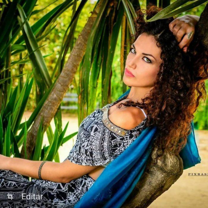 La onubense Elena Olmedo, elegida Miss Andalucía 2020