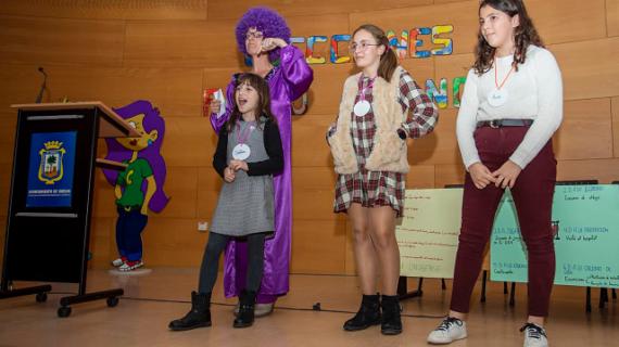 Inahia Blanch Pozuelo, elegida nueva alcaldesa infantil de Huelva