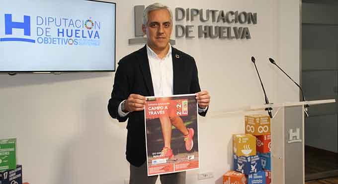 José Manuel Alfaro, durante la presentación del Circuito Provincial de Campo a Través.