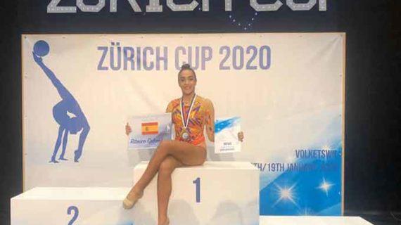 Sensacional medalla de bronce para Lucía Paiseo en la International Tournament Zurich Cup