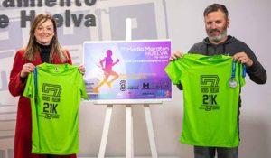 Un momento de la presentación de la VII Media Maratón de Huelva que tendrá lugar este domingo.