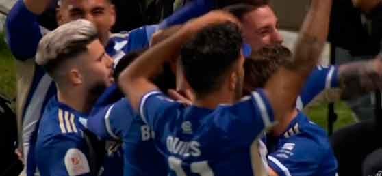 El Recreativo dice adiós a la Copa del Rey con la cabeza alta después de poner contra las cuerdas al Osasuna (2-3)