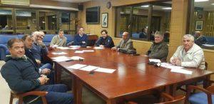 Un momento de la reunión de los representantes de los clubes náuticos de Huelva.