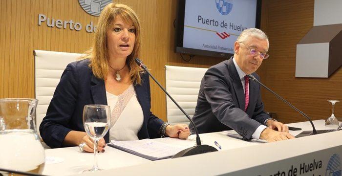 El Puerto de Huelva cierra 2019 como el año de mayor movimiento de mercancías con 33,8 millones de toneladas