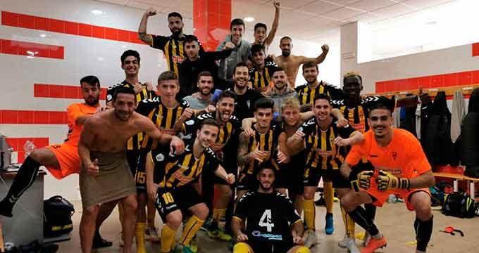 El San Roque de Lepe regala a su gente el mejor partido de la Liga para derrotar al Betis B (1-0)