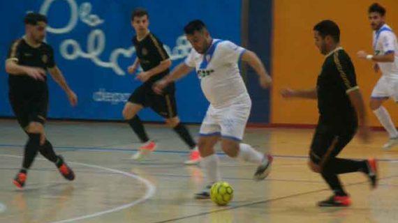 El CD San Juan FS asalta La Palma y se lleva el derbi onubense de la Tercera División de fútbol sala ante el Smurfit Kappa (2-4)