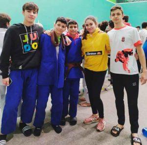El equipo Cadete estuvo en Hondarribia disputando la Copa de España de Judo. / Foto: @JudoHuelva1.