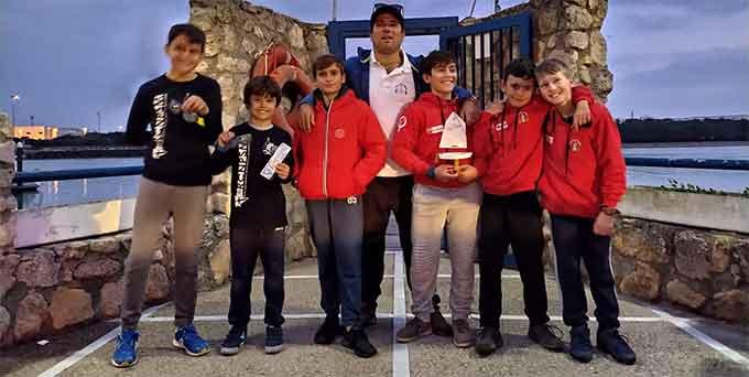 La 6ª Regata Ciudad del Puerto fue un éxito para el CDN Punta Umbría con el triunfo de Rodrigo Luis González.