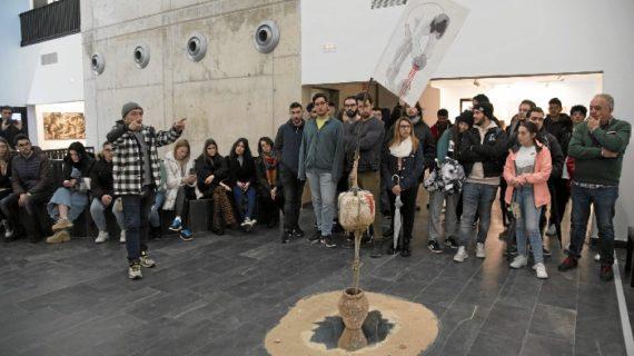 La Feria Transfronteriza de Arte Contemporáneo llega con éxito a su ecuador