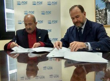La FOE y la Escuela León Ortega colaboran en materia académica y de investigación