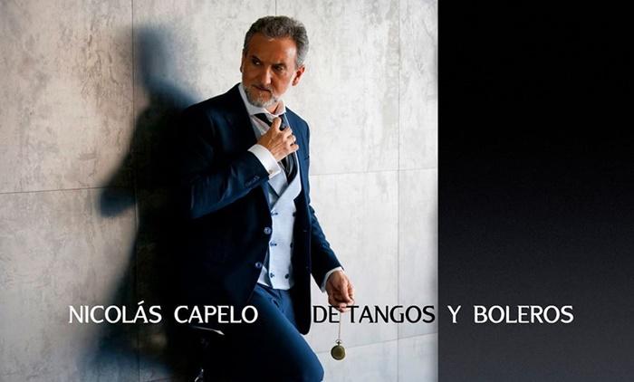 El cantautor onubense Nicolás Capelo presenta su último trabajo 'De tangos y boleros'