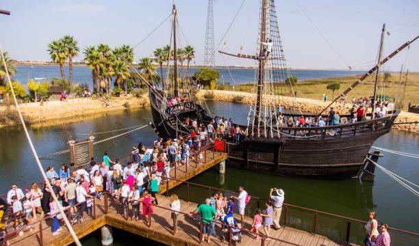 El Muelle de las Carabelas culmina su 25 aniversario con 255.273 visitantes, un 10% más que en 2018