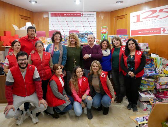 'Huelva es Solidaria' garantiza un año más regalos para menores en situación de pobreza con la recogida de más de 2000 juguetes