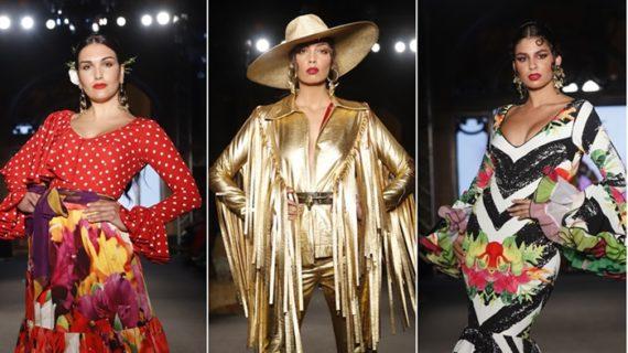 Los diseñadores onubenses muestran el lado más rompedor del traje regional en We Love Flamenco