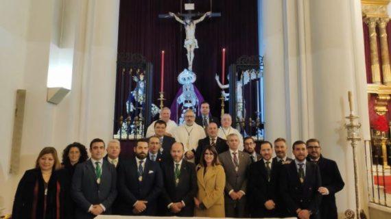 José Carlos García toma posesión como hermano mayor de la Hermandad de la Oración en el Huerto