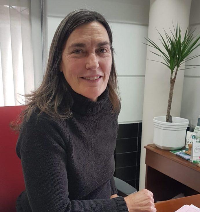 Imagen de la nueva directora.