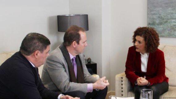 Diputación y UNIA reafirman lazos de colaboración entre ambas instituciones con vistas a Iberoamérica