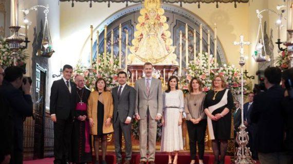 Los Reyes presiden el Congreso del 50º Aniversario de Doñana y visitan la Virgen del Rocío en Almonte