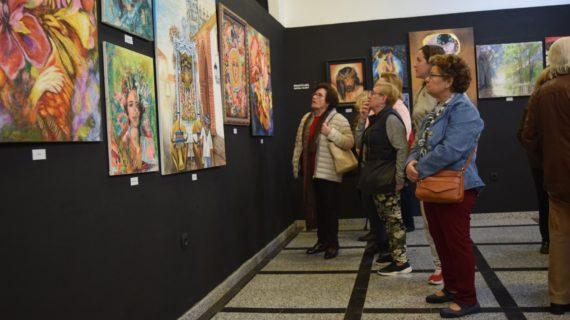 El Tiempo en el Arte, la primera exposición conjunta de artistas locales