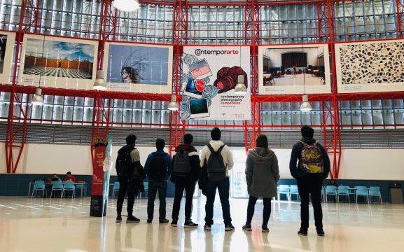 La Universidad de Huelva inaugura la exposición permanente 'Contemporarte' en el Aulario Isidoro Morales